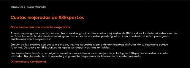 bono bienvenida 888sport freebet cuota mejorada foronaranja