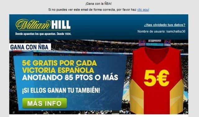sentimiento patrio patriotismo williamhill cuota seleccion española correo mail foronaranja
