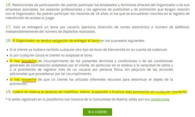 codere-bono-bienvenida-x3-publicidad-enganosa-condiciones-6-foronaranja