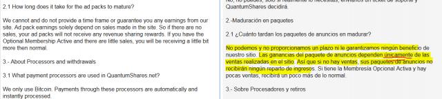 QuantumShares revshare estafa piramidal scam foronaranja